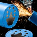 Image - Precision Laser Cutting After Powder Coating Assures Clean Edges