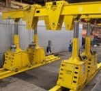 Image - New High-Capacity Gantry Offers Wireless Control System and Lifting Capacity Up to 450 Tons