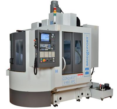 Image - New Fully-Digital VMC Features Faster Tool Changes, Improved Coolant Containment, and Easier Chip Removal
