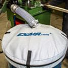 Image - New Mesh Drum Cover Keeps Scrap, Chips, or Parts Contained During Transfer