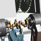 Image - State-of-the-Art Machines Produce Today's Crankshafts and Drive Shafts; Also Prepared to Produce Tomorrow's Engine