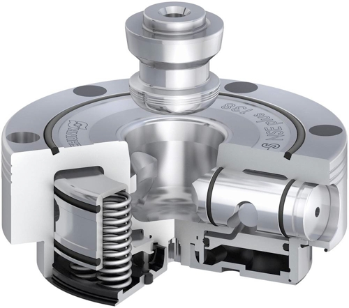 Image - Dual Clamping Stroke and Turbo Function Increases Quick-Change Pallet System's Retention Force to 9,000 lbs.