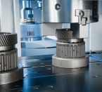 Image - Grinding Center's Dual Spindles Drastically Reduce Grinding Time, Even on Small, Complex Components