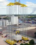 Image - Self-Erecting Tower Can Lift Vessels Up to 1,400 Tons as High as 75 Meters