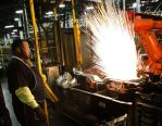 Image - GM Arlington Presses First Parts at $200 Million Body Shop