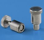Image - Spring-Loaded Plunger Assemblies Move Sliding Components to New Positions Without Tools