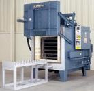 Image - 2000°F Inert Atmosphere Heavy-Duty Box Furnace Ideal for Heat Treating Titanium