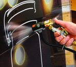 Image - Newly Certified Anti-Static Air Gun Cleans Parts Prior to Printing or Painting