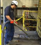 Image - Massachusetts Manufacturer Uses Heavy Duty Vacuum to Eliminate Safety Concerns and Wasted Manpower