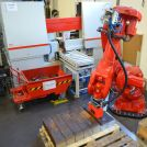 Image - Austrian Manufacturer's Productivity Up 4x Thanks to Fully Integrated Band Saw With Part-Sorting Robot
