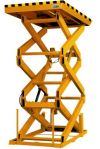 Image - Heavy-Duty Scissor Table: Lift and Lower 6,000 Pounds at the Push of a Button