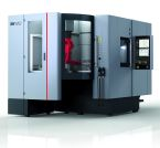 Image - Plug-and-Play Cell Integrates 5-Axis Machine, Robot Loader, and Vertical Pallet Storage
