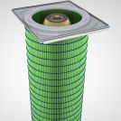 Image - Gold Cone Filter Cartridges for Dust Collection � Stay Cleaner, Last Longer