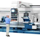 Image - CNC Lathe's Rigid Monoblock Bed Makes It Ideal for Aerospace, Steel Mill Applications