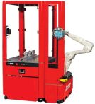 Image - Robotic Cell Streamlines Part Loading, Unloading, and Palletizing