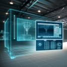 Image - First Digital Native CNC -- Siemens Sinumerik One -- Creates Digital Twin to Significantly Reduce Machining Time